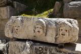 Turkey  Myra  Theater  Relief  Greek Masks