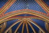 France  Paris  Notre Dame Cathedral  Lower Church  Apse  Ribbed Vaulted Ceiling