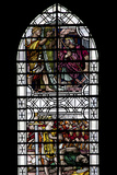 England  Salisbury  Salisbury Cathedral  Stained Glass Window  King David