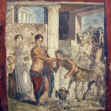 Italy  Naples  Naples Museum  The Centaur at the Wedding of Pirithous and Hippodamia