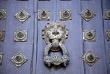 Spain  Santiago de Compostella  Cathedral of Santiago de Compostella  Door Knocker