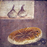 Italy  Naples  Naples National Archeological Museum  Herculaneum  Still Life with Bread and Figs
