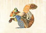 Woodland Creature: Squirrel Poster