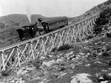 Railroad Climbing Mount Washington