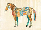 Woodland Creature: Horse Poster