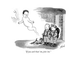 """If you can't beat 'em  join 'em"" - New Yorker Cartoon"