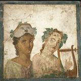 Naples  Naples National Archeological Museum  from Pompeii  Fresco