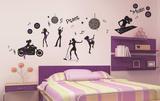 Night Life Wall Decal Sticker