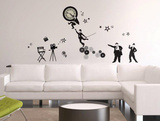Silent Movies Wall Decal Sticker