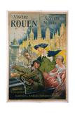 Visitez Rouen Poster