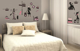Haute Couture Wall Decal Sticker