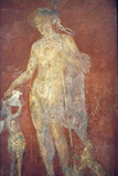Italy  Naples  Naples Museum  from Pompeii  House of Diodcuri (VI 9  6-7)  Dionysus and Satyr
