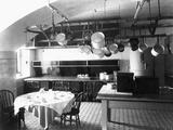 Kitchen of the White House