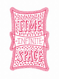 Venn by Pen: Time  Space  Infinite Poster