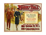 "Harry Hall - ""The"" Gold Medal Tailor Advertisement Poster"