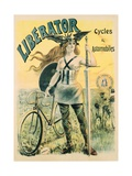 Liberator Cycles and Automobiles Poster
