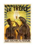 Manchon Le Trefle Poster Giclée par Charles Delaye