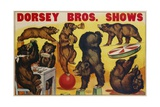 Dorsey Bros Shows Poster