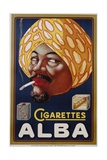 Poster Advertisement for Alba Cigarettes