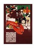 Wilhelm Mozer Poster