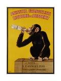 Anisetta Evangelisti Liquore Da Dessert Poster Giclée par Carlo Biscaretti Di Ruffia
