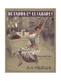 De Farra En El Cabaret Tango Sheet Music Cover