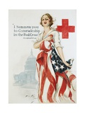 I Summon You to Comradeship in the Red Cross Poster