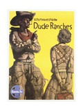 Southwestern Dude Ranches Poster