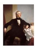 Official White House Portrait of President John Tyler