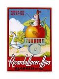 Ricardo Llacer E Hijos Giclée