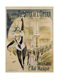 Theatre De L'Opera Poster Giclée par Henri Gray