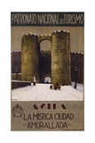 Avila - La Mistica Ciudad - Amurallada Poster