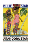 Blue Star Arandora Star Poster