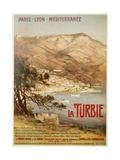 La Turbie Travel Poster