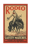 Rodeo Safety Matches Illustration