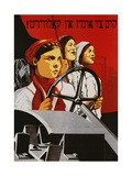 Russian Poster Worker Women