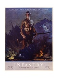 Infantry Recruitment Poster