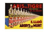 Anis Del Tigre Alcoholic Beverage Poster