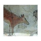 Replica of Cave Painting of Doe from Altamira Cave