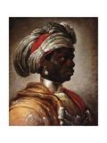 A Turbanned Moor  Bust Length