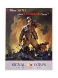 Signal Corps Recruitment Poster