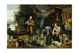 "Camping in the Woods  ""A Good Time Coming"" after Arthur Fitzwilliam Tait"