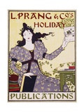 L Prang and Co's Holiday Publications Poster