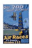International Air Races Poster
