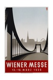 Poster Advertisement for Wiener Messe Trade Fair