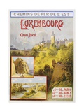 Luxembourg Travel Poster
