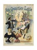 Au Quarter Latin Poster