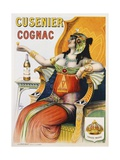 Cusenier Cognac Advertisement Poster after Pal
