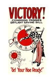 Victory! Congress Passes Daylight Savings Bill Poster