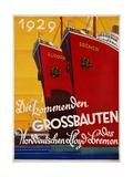Die Kommenden Grossbauten Poster